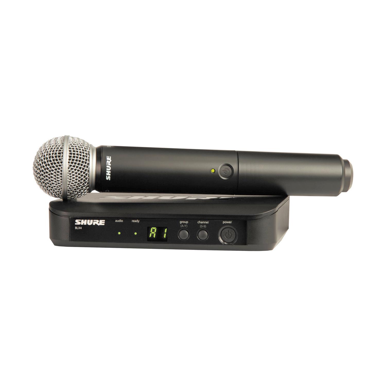 SHURE BLX24ESM58 M17 662-686 MHz